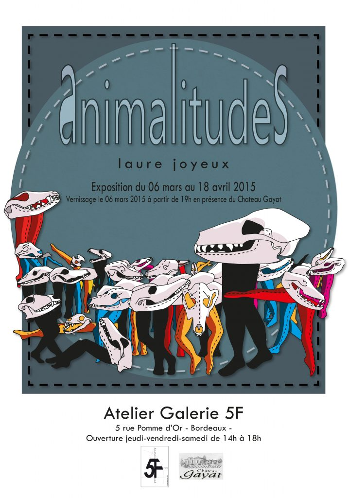 Laure Joyeux-Exposition-Animalitudes-Florence Joutel-Galerie 5F-Bordeaux-Art-Art contemporain-France-