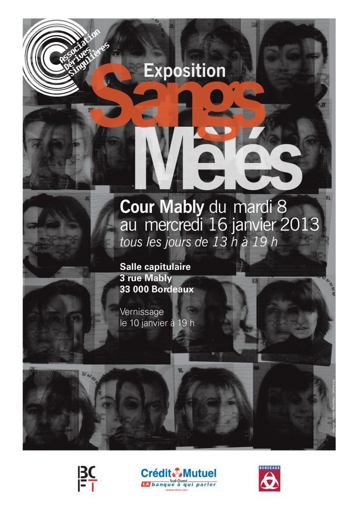 Laure Joyeux-Exposition-Sangs Mêlés-Cour Mably-Mably-Bordeaux-Art-Art contemporain-France-