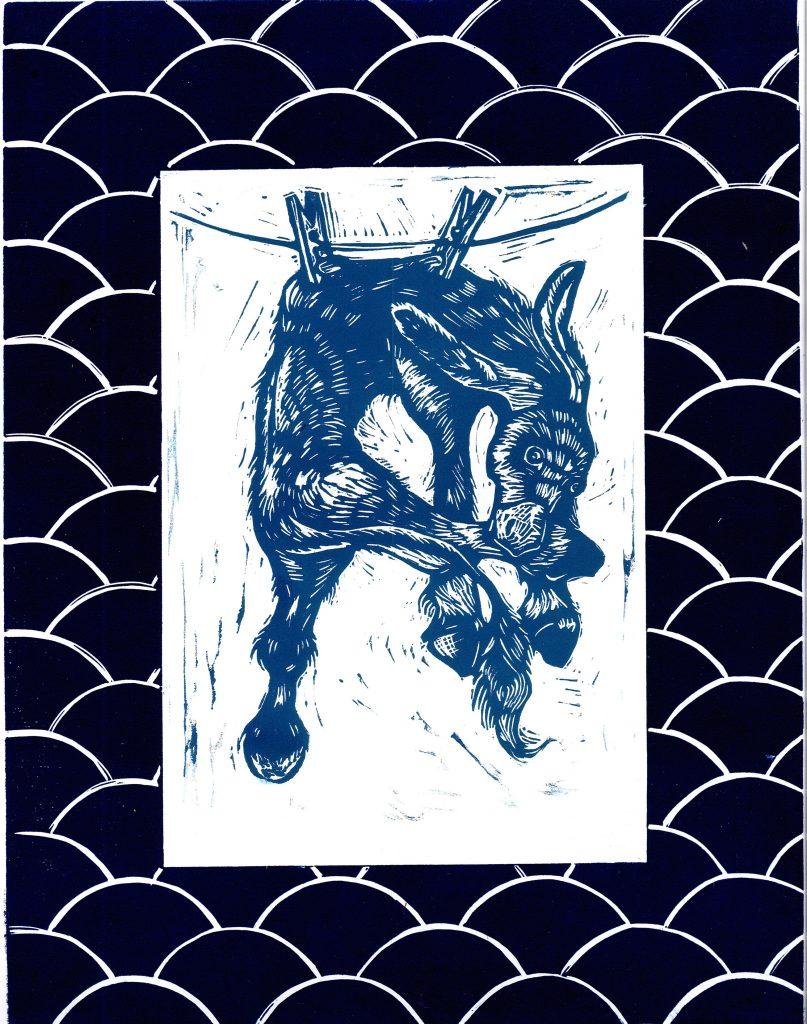 Laure Joyeux-artiste-Alphabestiaire-Linogravure-Exposition- Bordeaux